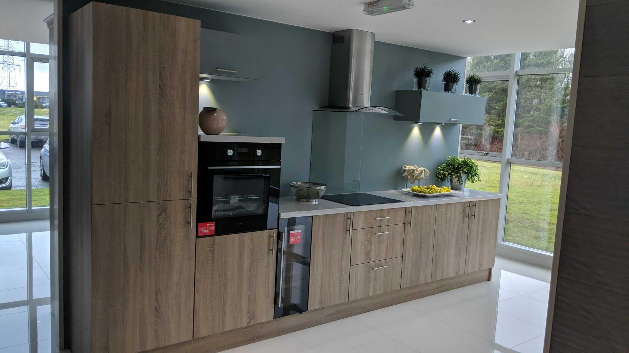 Older kitchen range, glasgow showroom