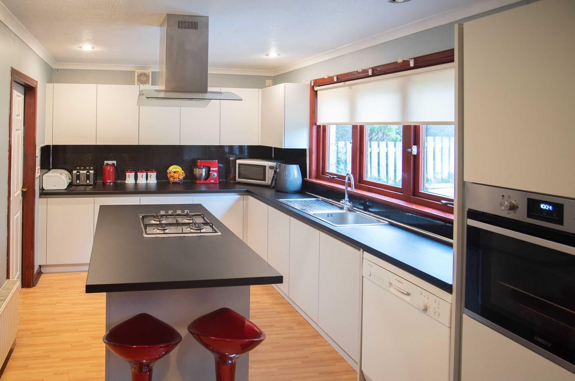 newly installed kitchen aberdeenshire