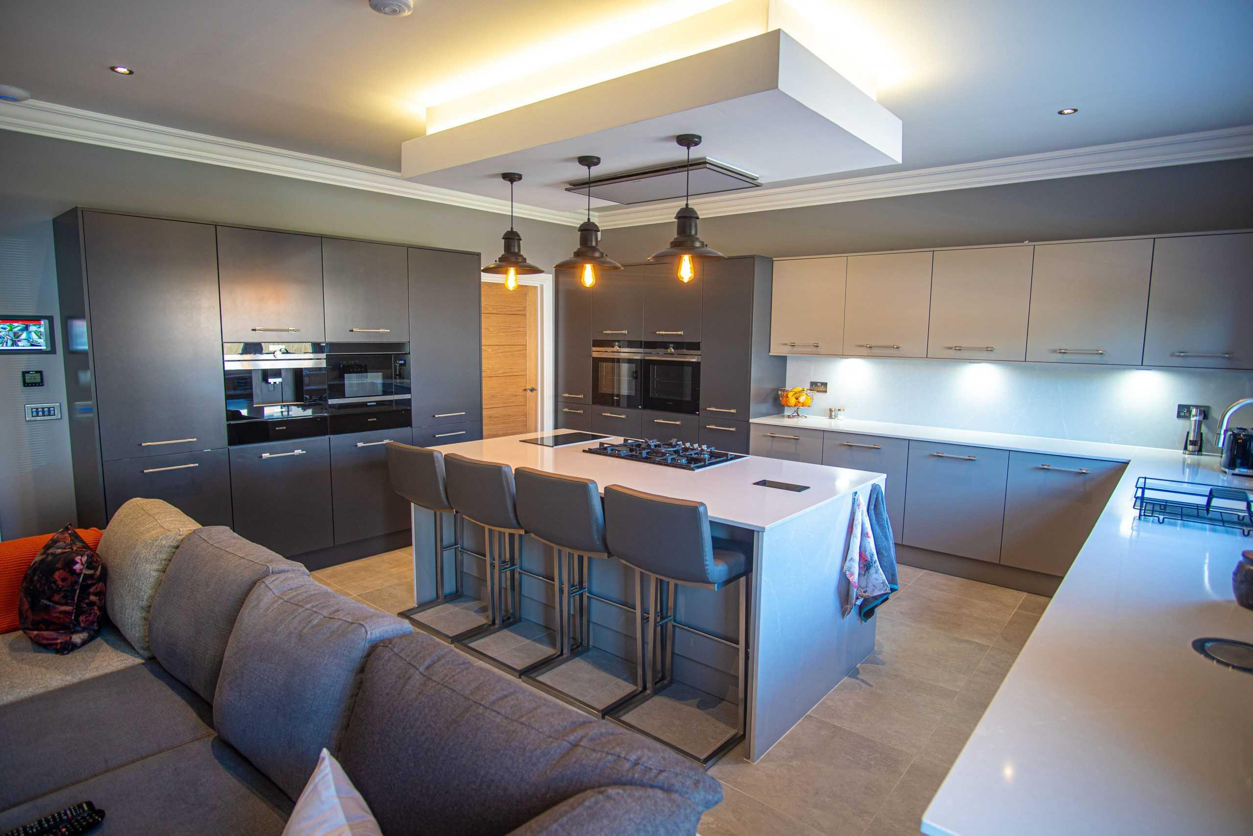 grey kitchen aberdeen