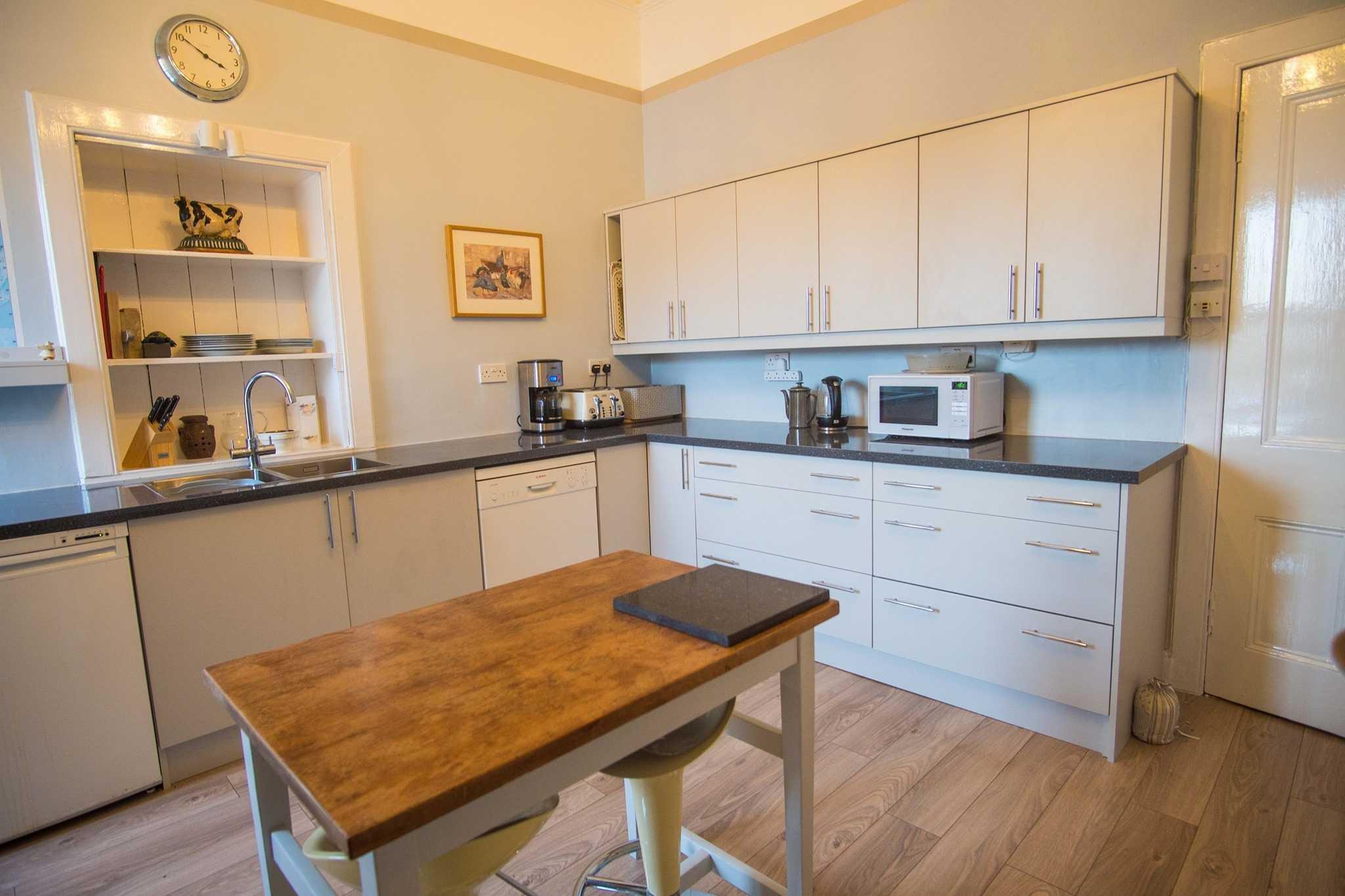 Newly installed kitchen bearsden